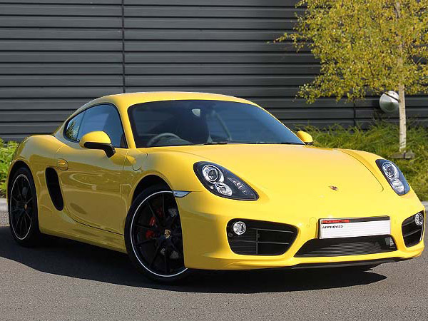 Cayman S Yellow