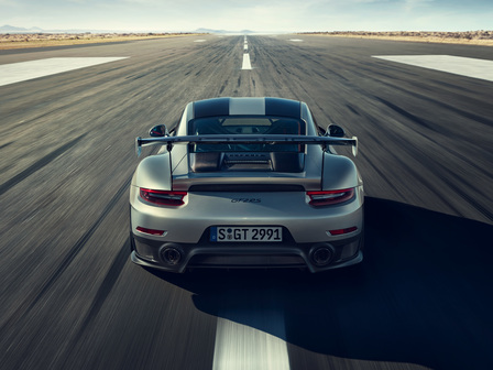 911 GT2 RS. The most powerful 911 ever built.