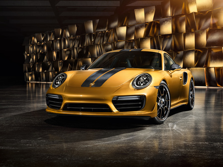 The new 911 Turbo S Exclusive Series.